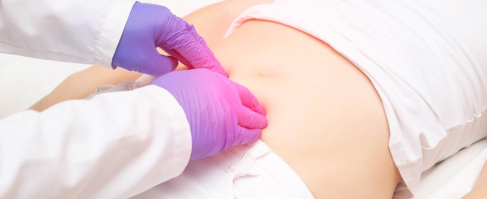 Kismedencei EMG biofeedback mérés